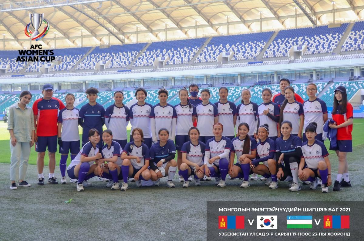 Эмэгтэй хөлбөмбөгийн шигшээ эхний тоглолтодоо хожигдлоо