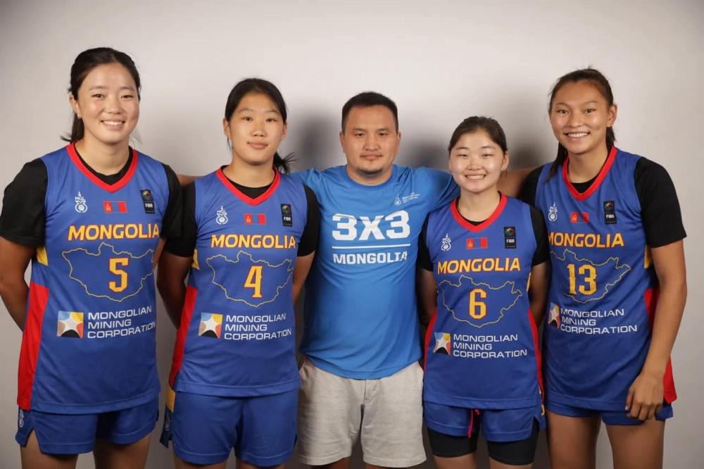 3x3 U23 эмэгтэй сагсан бөмбөгчид дэлхийн чансааг тэргүүлж эхэллээ