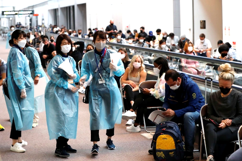 Токиогийн олимпод оролцогчдоос илэрсэн халдварын тоог нуужээ