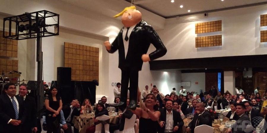 Мексикийн сенатчид Доналд Трампыг ингэж шогложээ