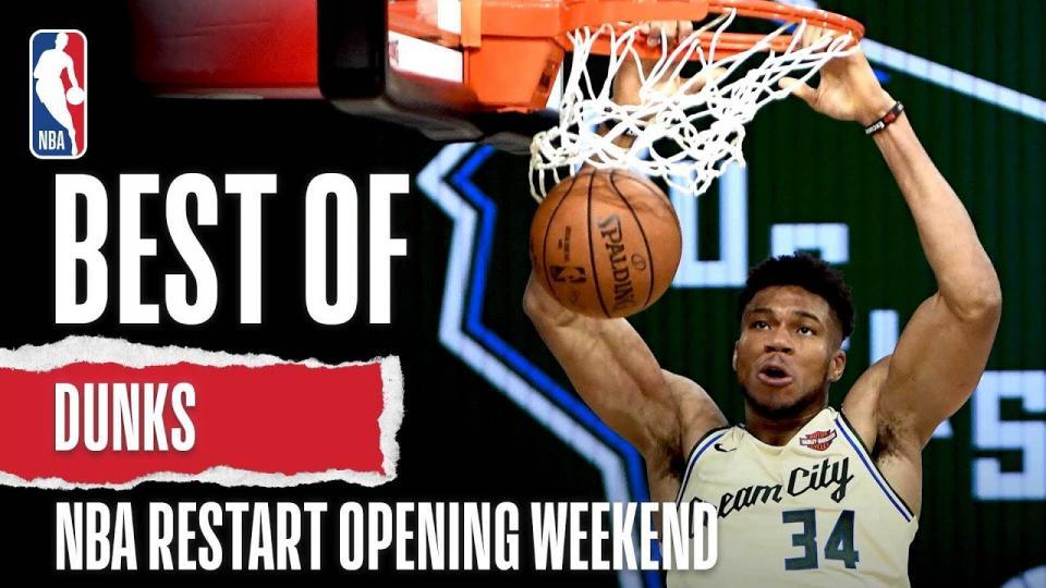 NBA дахин эхэлсэн нээлтийн долоо хоногийн шилдэг тохолтын бичлэг