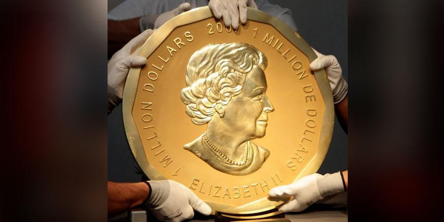 Музейгээс 100 кг алтан зоос хулгайлагджээ