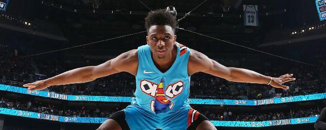 Хамидо Диало Slam dunk-ийн төрөлд аварга боллоо