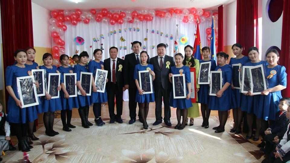 100 хүүхдийн хүчин чадалтай 25 дугаар цэцэрлэг нээлтээ хийжээ