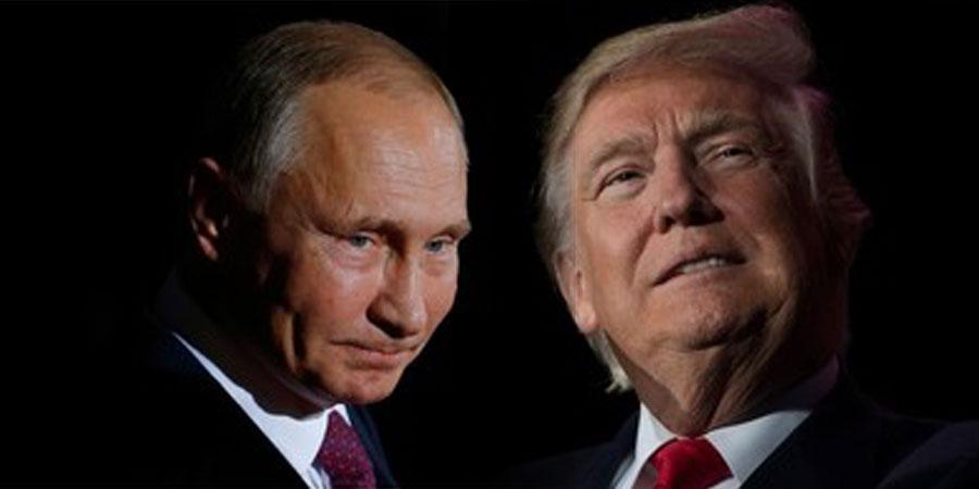 В.Путин Д.Трамптай уулзана