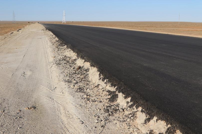 Газрын тос боловсруулах үйлдвэрийн 17,5 км хүнд даацын авто замын барилгын ажлын нээлт боллоо