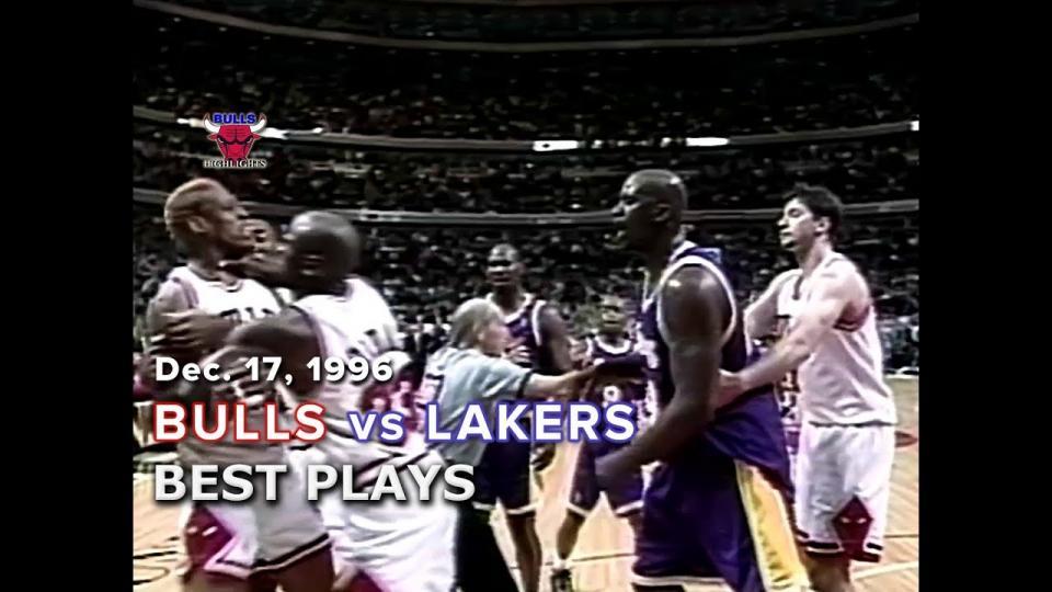 1996 оны Чикаго Буллз болон Лос Анжелес Лейкэрс багуудын тоглолтын бичлэг