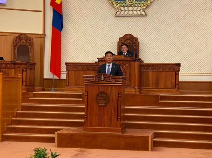 Монгол улсын Ерөнхий сайдаар У.Хүрэлсүх дахин томилогдлоо