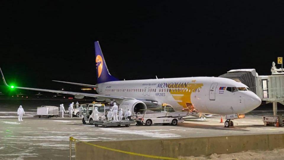 Сөүлийн чиглэлийн тусгай үүргийн онгоцоор 165 иргэн эх орондоо ирлээ