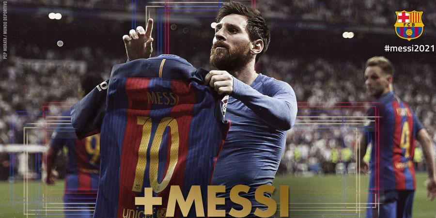 """Месси """"Барселона""""-тай  гэрээгээр сунгахаар тохиролцоонд хүрчээ"""