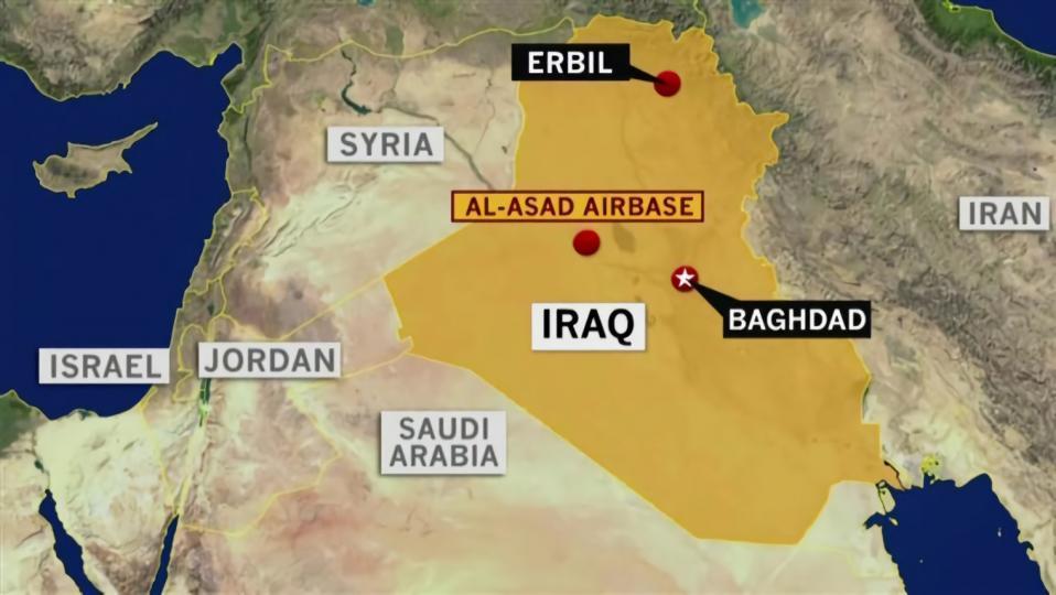 Иракт байрладаг Америкийн цэргийн баазууд руу пуужин харвалаа