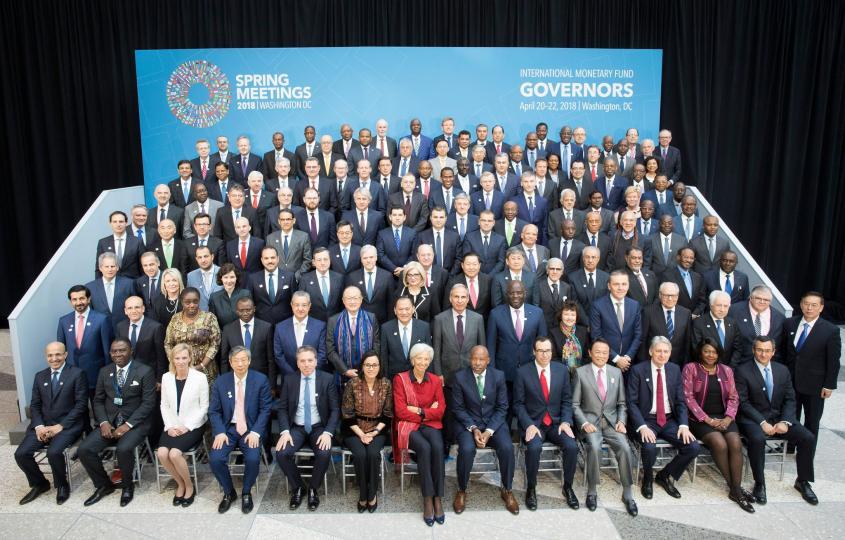 ОУВС, Дэлхий банкны 2018 оны хаврын чуулга уулзалт боллоо