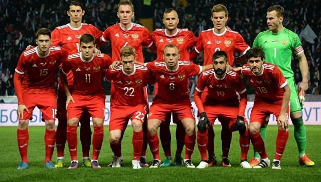 Хөлбөмбөгийн ДАШТ-д оролцох ОХУ-ын шигшээ багийн бүрэлдэхүүн
