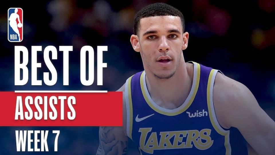 NBA-гийн өнгөрсөн долоо хоногийн шилдэг дамжуулалтын бичлэг