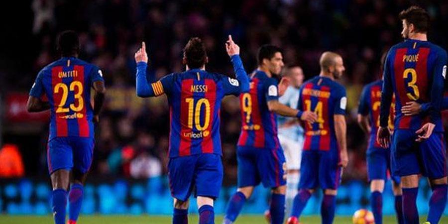 """Месси """"Барселона""""-гийн гоолын 42 хувьд нь оролцжээ"""