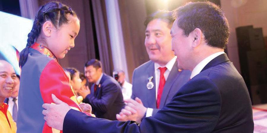 Г.Халиунаа Зүүн Азийн аваргаас дөрвөн алтан медаль хүртжээ