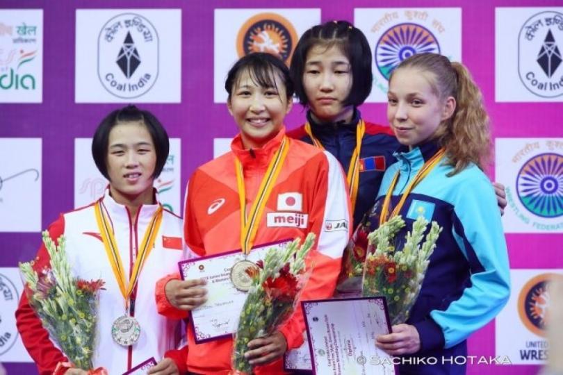 Залуучуудын Азийн АШТ-ээс долоон медальтай ирлээ