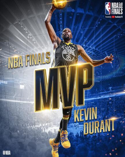 Финалын MVP ээр Кэвин Дурант тодорлоо