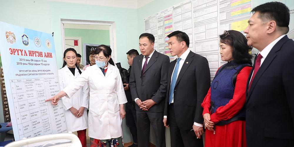 Налайх дүүргийн нэгдсэн эмнэлэг Нярайн эмгэг судлалын тасагтай боллоо