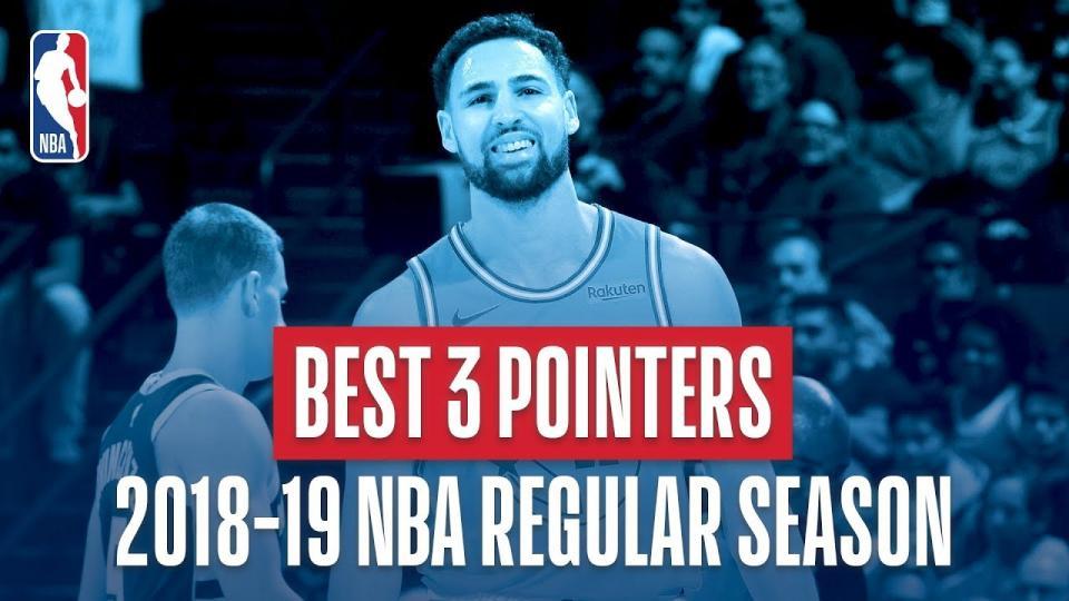 NBA-ын өнгөрсөн улиралын шилдэг гайхалтай холын зайн шидэлтийн бичлэг