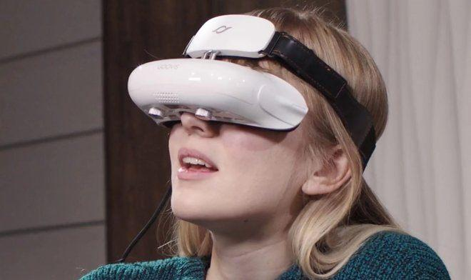 """""""Goovis"""" төхөөрөмж виртуал ертөнцөд кинотеатрын асар том дэлгэцийг харуулна"""