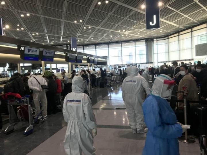 Токио-Улаанбаатар чиглэлийн тусгай үүргийн онгоцоор одоо 266 иргэн ирнэ