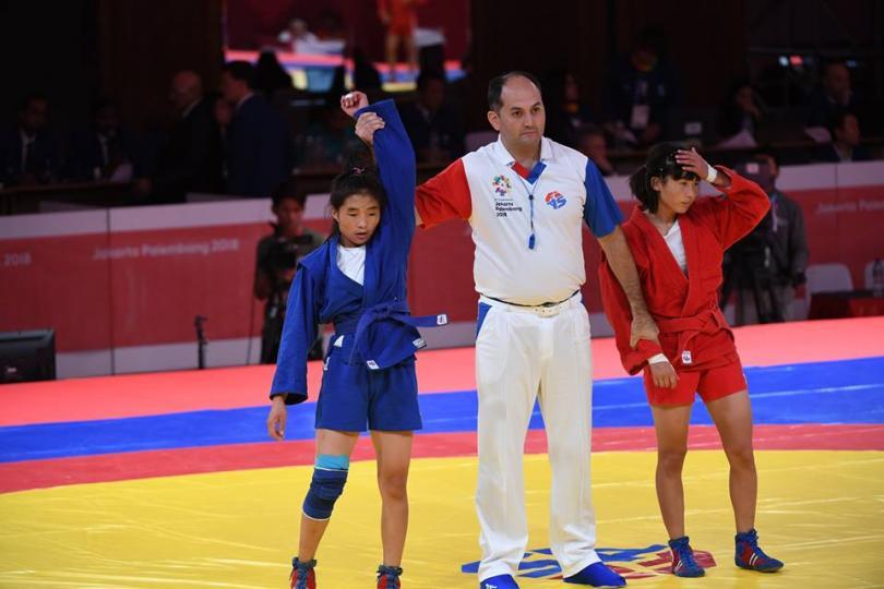 Г.Наранцэцэг Азийн аварга шалгаруулах тэмцээнээс алтан медаль хүртлээ