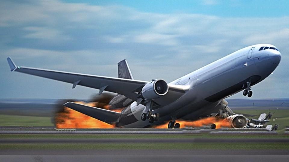 Камерт бичигдсэн онгоцны аймшигт ослууд