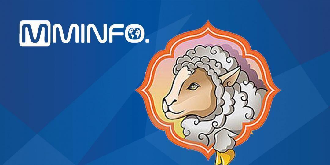 Зургаан цагаан мэнгэтэй шарагчин хонь өдөр