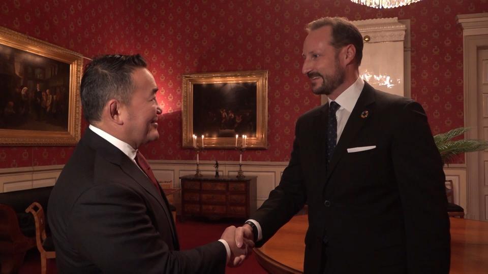 Ерөнхийлөгч Х.Баттулга Норвегийн Баялгийн сантай танилцлаа
