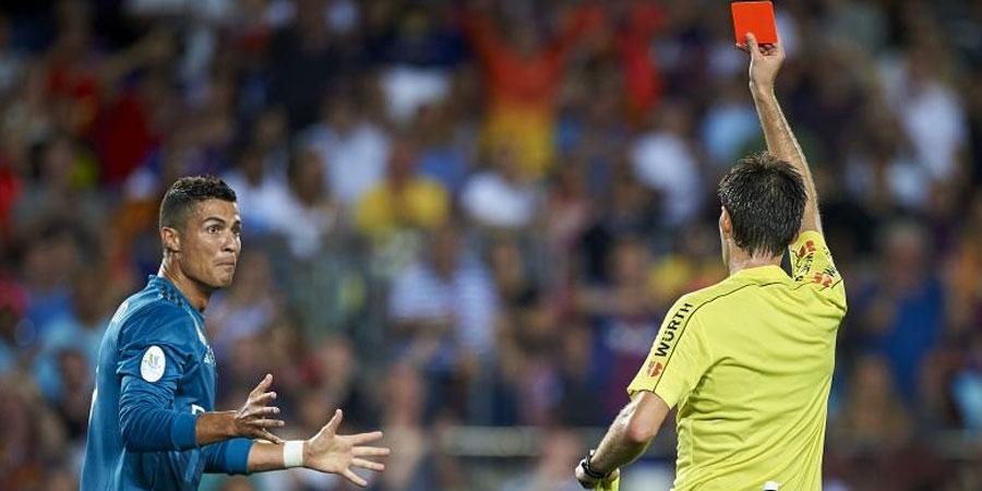 Роналдо 5 тоглолтоор шийтгүүллээ