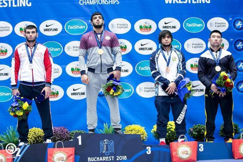 """Г.Ганхуяг  """"U23""""-ын ДАШТ-ий анхны медальтан боллоо"""