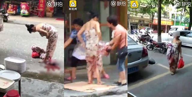 Жирэмсэн эмэгтэй гудамжинд хүүхдээ төрүүлжээ