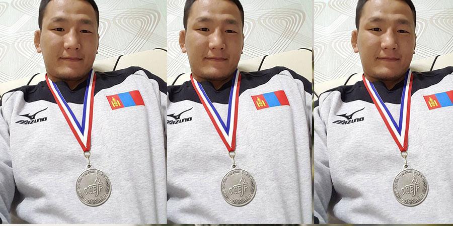 Г.Мандахнаран хүрэл медальтай боллоо
