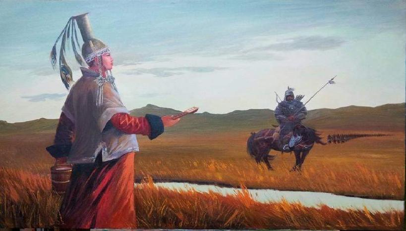 Монгол Улсын ардын зураачдыг, бүтээлтэй нь зохиомжилсныг сонирхоорой