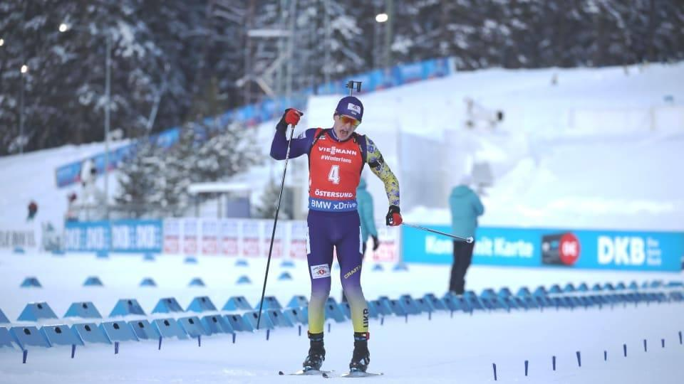 Украйны эрэгтэй биатлончид ДАШТ-ээс анхны алтан медалиа хүртлээ