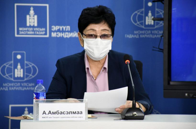 А.Амбасэлмаа: Нэг орцны зургаан айлын 13 хүнээс коронавирусийн халдвар илэрлээ