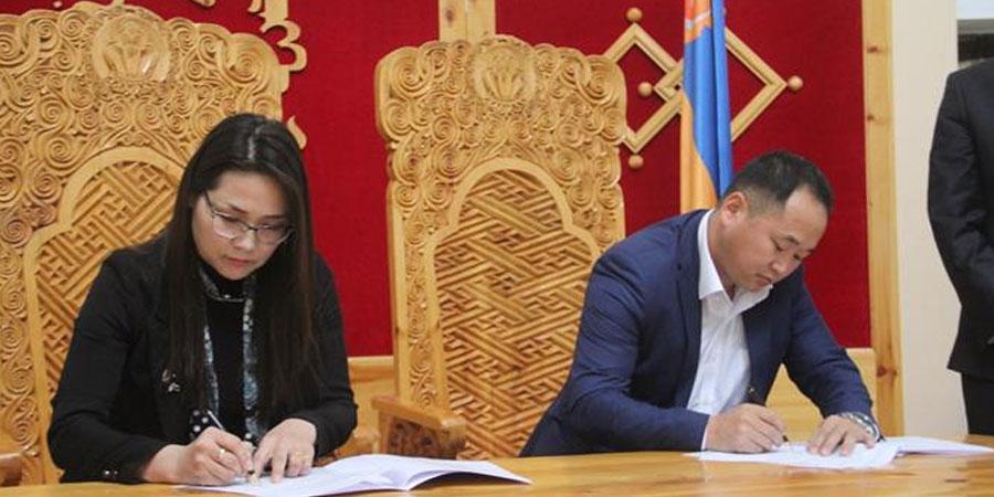 Монголын залуу эрдэмтдийн холбоотой хамтран ажиллах гэрээ байгууллаа