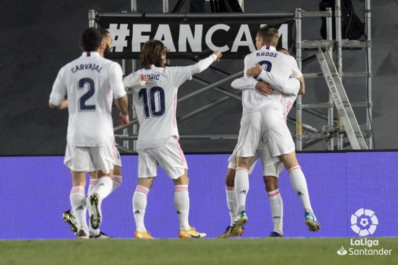 Реал Мадрид клуб хүснэгтийг хоёрт бичигдэж эхэллээ