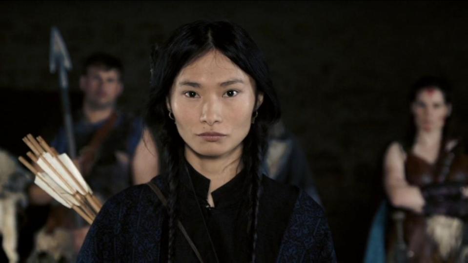 """Монгол жүжигчин Б. Ганчимэгийн тоглосон """"Waiting for Barbarians"""" киноны трэйлер цацагджээ"""