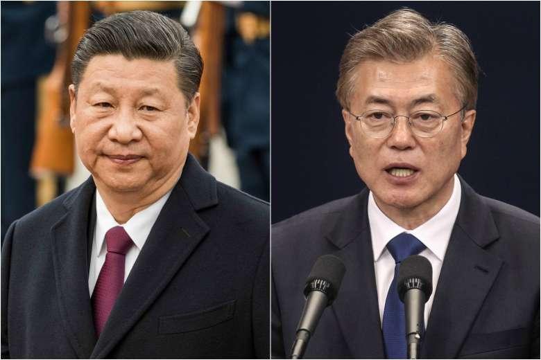 Си Зиньпин Солонгосын Ерөнхийлөгчид баяр хүргэв