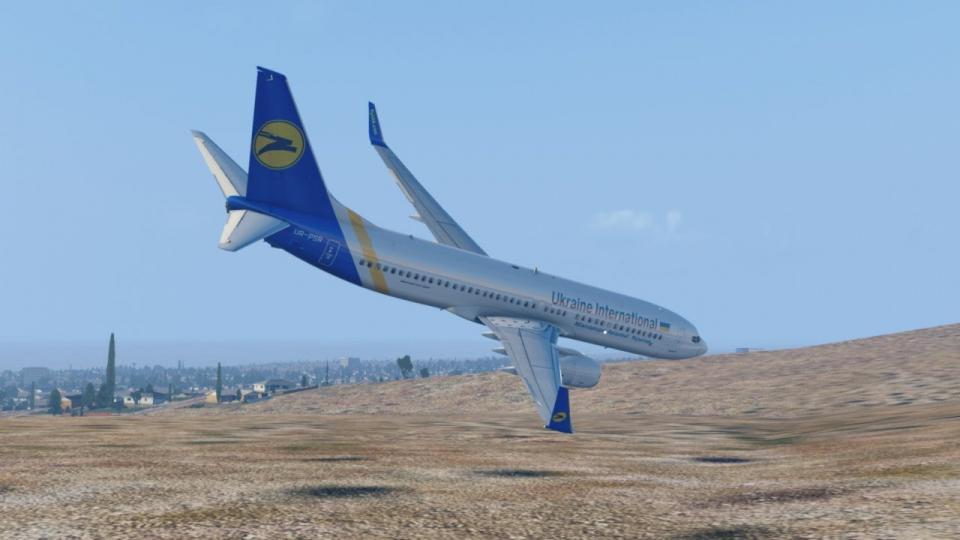 Украйны Боинг 737 онгоцны осол. Уг ослыг компьютерийн аргаар дүрсэлсэн видео