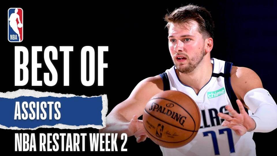 NBA дахин эхэлсэн 2 дахь долоо хоногийн шилдэг дамжуулалтын бичлэг