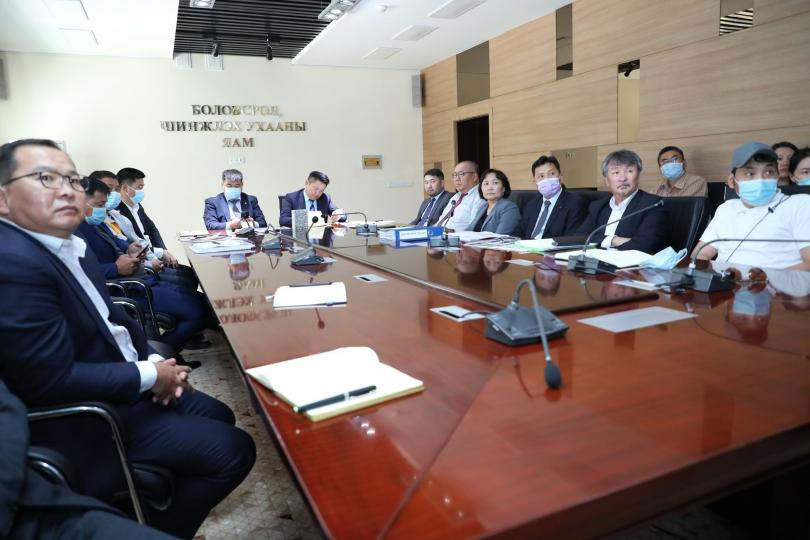 """""""Чингис хаан"""" музейн бүтээн байгуулалтын ажлын явцтай танилцлаа"""