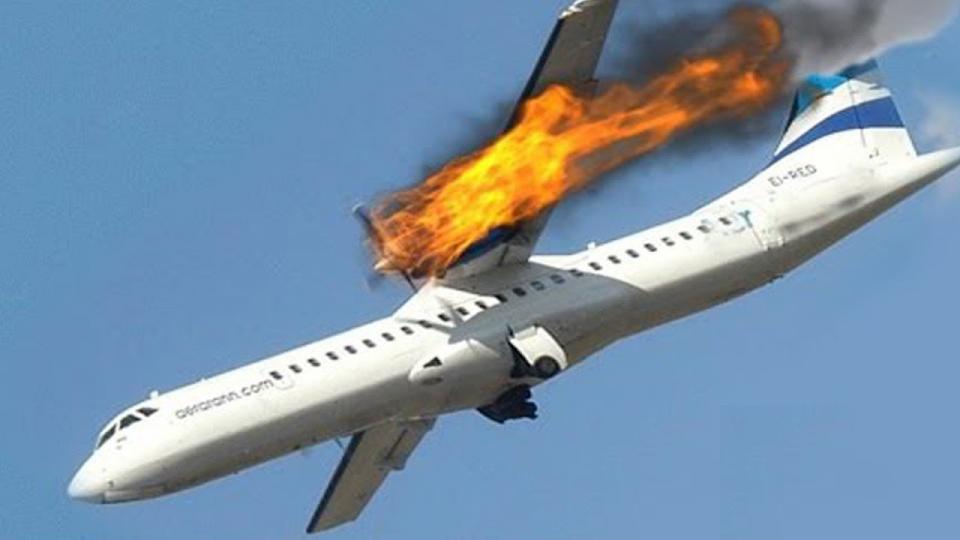 Камерт бичигдсэн онгоцны аймшигт ослуудын бичлэг