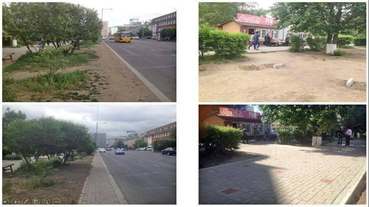 Нийслэлийн 15 гудамжны талбайг хатуу хучилттай болголоо