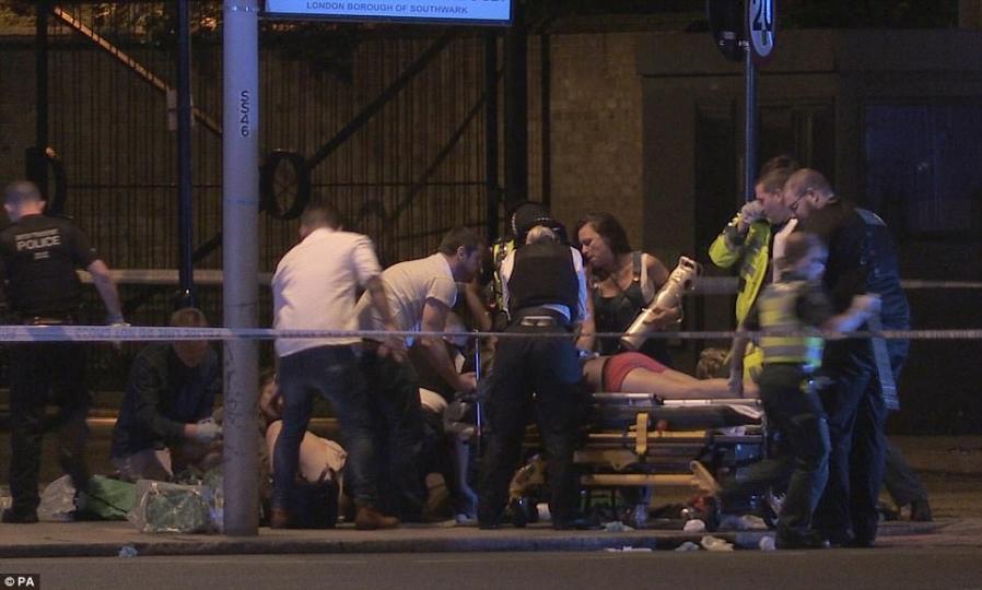 Лондонд  террорист халдлага гарлаа