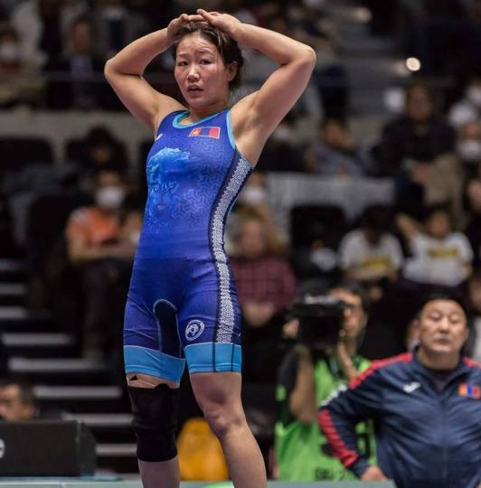 Э.Сумъяа Азийн наадмаас хүрэл медаль хүртлээ