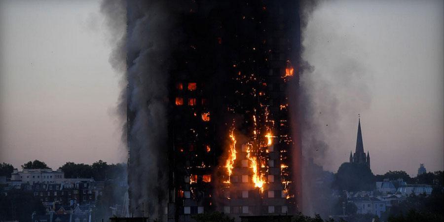 Лондонгийн 27 давхар барилгад гал гарлаа