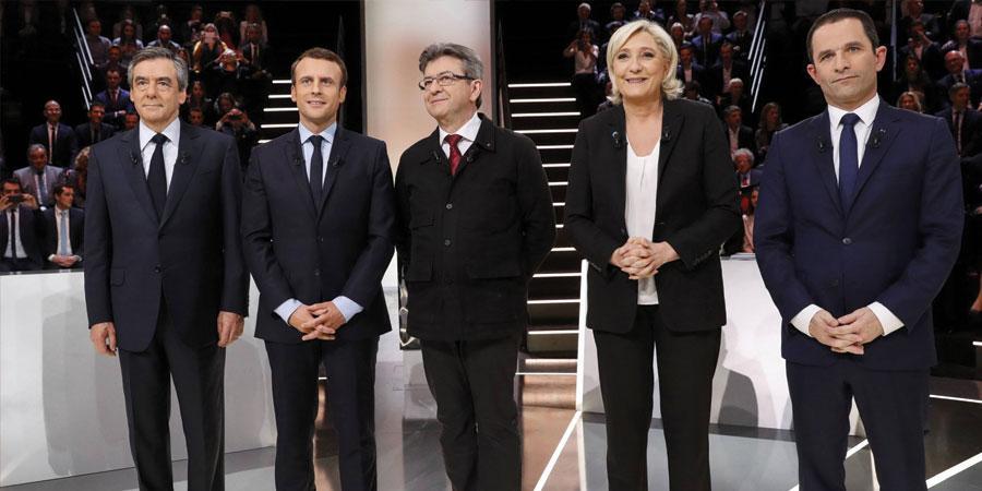 Францын сонгуульд нэр дэвшигчид халз мэтгэлцлээ